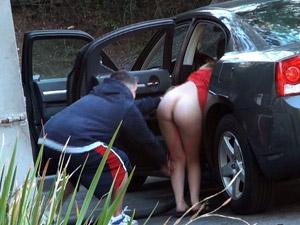 Cindy Cooper - Public panty yank