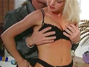 Vintage Full Scene Silvia Saint Big Tits Blonde Anal