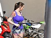 Ashton Pierce - Biker Babe Boobnanza