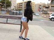 Hot Chick With Plump Ass Fucks In A Construction Site