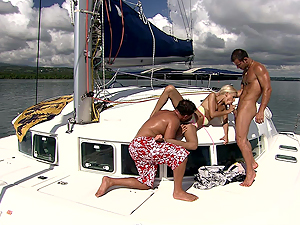 High seas threesome sex