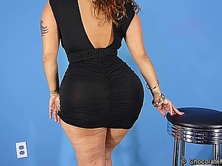 Scarlett Black Dress Dancing
