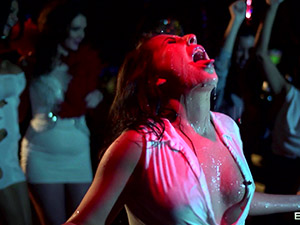 Jasmine Jae & Brooklyn Blue & Emma Leigh - Party Facials