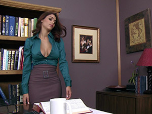 Jasmine Caro - Getting The Boss's Attention