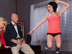 Chase Ryder & Simone Sonay - Caught With a Cock