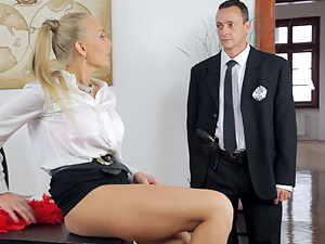 Failing employee put right by hot boss Kayla Green