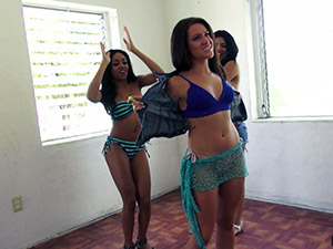 Anya Ivy, Lexy Villa - Flashing Their Latina Asses For the Camera