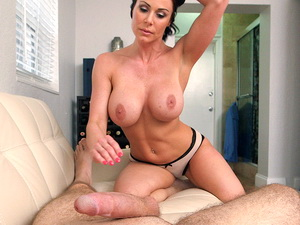 Kendra Lust gives a great blowJob