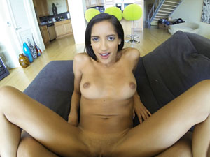 Exotic babe Chloe fucked in POV style