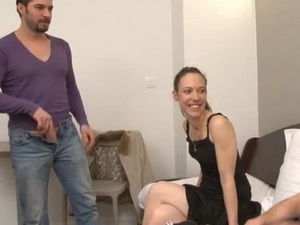 Sophie fucked by few guys