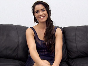 Melody on Backroom Casting Couch