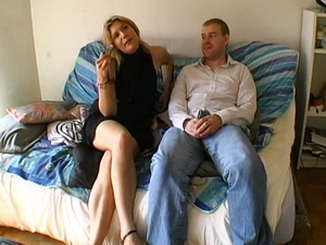 Eva analfucked in a threesome