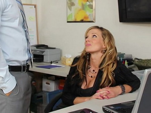 Nikki Sexx at the office