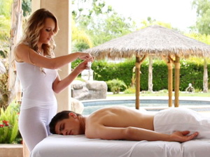 Alexis Adams is The Masseuse