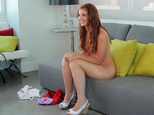 Sweet Ava on the casting couch