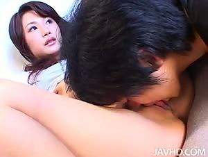 Minami Otsuki is a perky Japanese AV model
