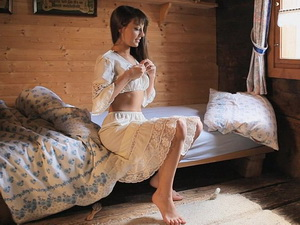 Shy beauty Lorena G