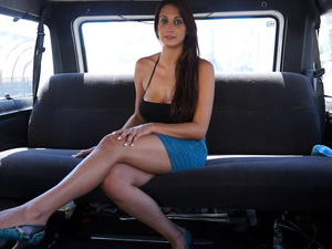 Ana Ribera in the Van