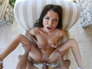Sexy pornstar Tiffany Fox POV fuck