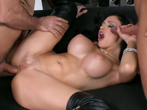 Aletta Ocean pounded deep in her asshole