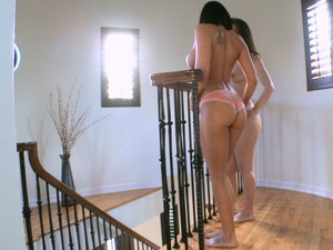 Rachel Starr and Miss Rican bouncing their asses