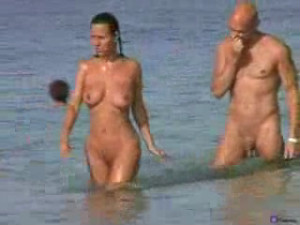 Two horny couples sexytime at the beach