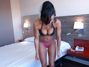 Latin milf with pierced niples