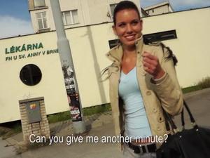 Polish dude picks up a classy girl