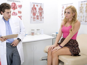Lexi Belle visits her doctor