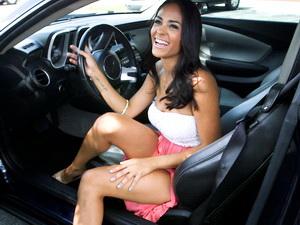 Sexy Latina fucked hard
