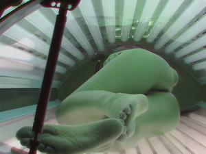 Voyeur Real Footage from a spy camera in a solarium