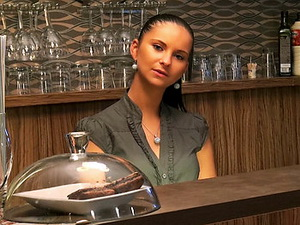 Barmaid Wants the Tip
