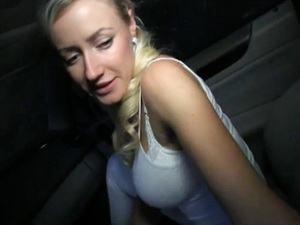 Hot Czech babe fucks for cash