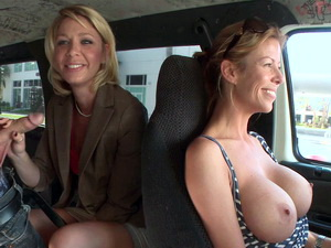 Kinky mom Harley Summers on the Bus