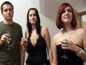 Amateur orgy at Czech Mega Swingers Party