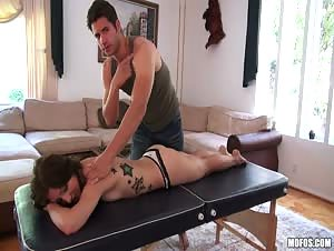 Fuck on the Massage Table