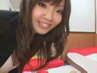 Busty Asian pornstar Hitomi Tanaka gives head, tit and pussy