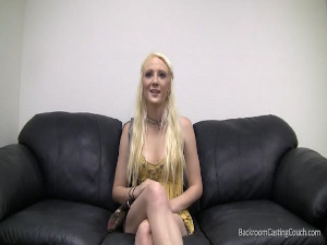 Casting of blonde teen Lyla