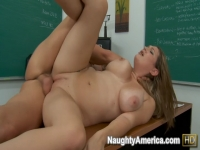 Cassandra Calogera gets pounded by her professor