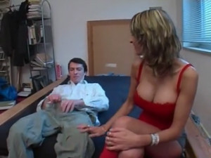 German MILF gets fucked