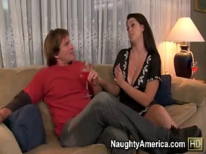 Alison Tyler gets her hot little pussy filled